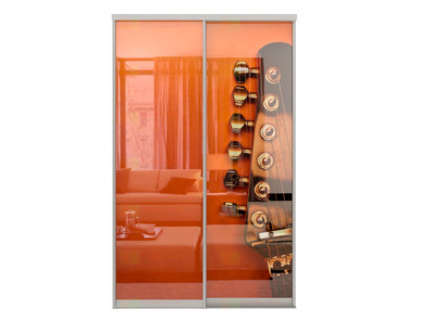 Двери для шкафа-купе Дк 240 фото 2-1 Гитара