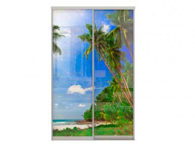 Двери для шкафа-купе Дк 240 2-47 Пляж