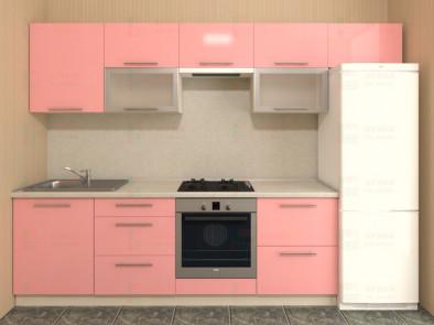 Кухня прямая из пластика Мари 1-10