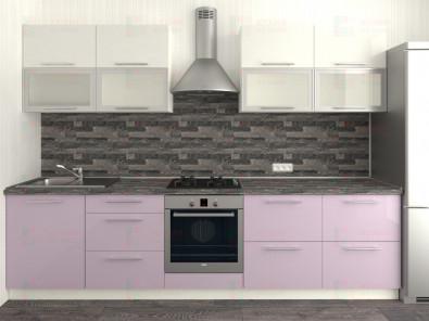 Кухня прямая из пластика Мари 1-12 - дополнительное фото