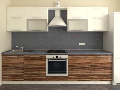 Кухня прямая из пластика Мари 1-14 - дополнительное фото
