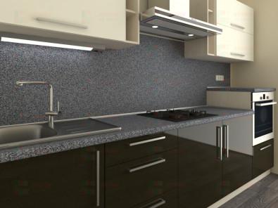 Кухня прямая из пластика Мари 1-15 - дополнительное фото