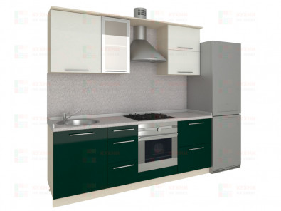 Кухня прямая из пластика Мари 1-3 - дополнительное фото