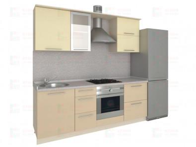 Кухня прямая из пластика Мари 1-4 - дополнительное фото