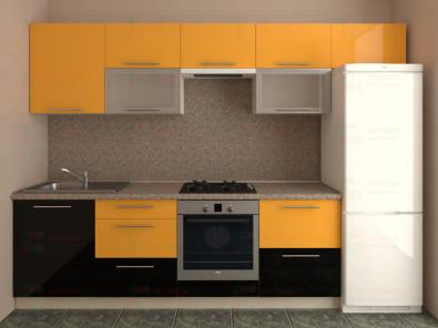 Кухня прямая из пластика Мари 1-9