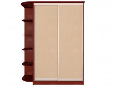 Шкаф-купе 2-х дверный для прихожей Модерн 200 К1 - дополнительное фото