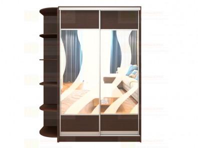 Шкаф-купе 2-х дверный с пескоструйным рисунком Модерн 261 К1 - дополнительное фото