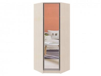 Угловой шкаф диагональный распашная дверь с зеркалом Модерн 120