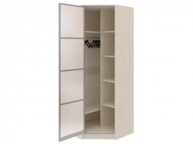 Угловой шкаф диагональный с зеркалом Модерн 128