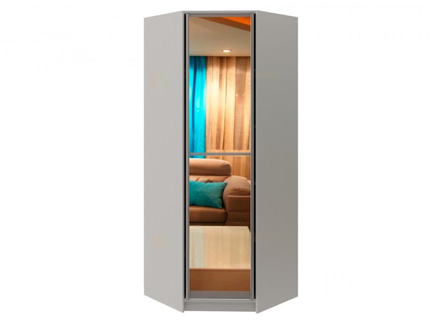 Угловой шкаф диагональный с зеркалом Модерн 129