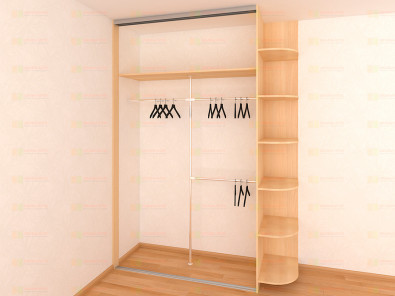 Встроенный шкаф-купе Версаль ВН-203-1 - дополнительное фото
